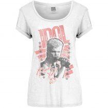Billy Idol - Rebel Yell női póló