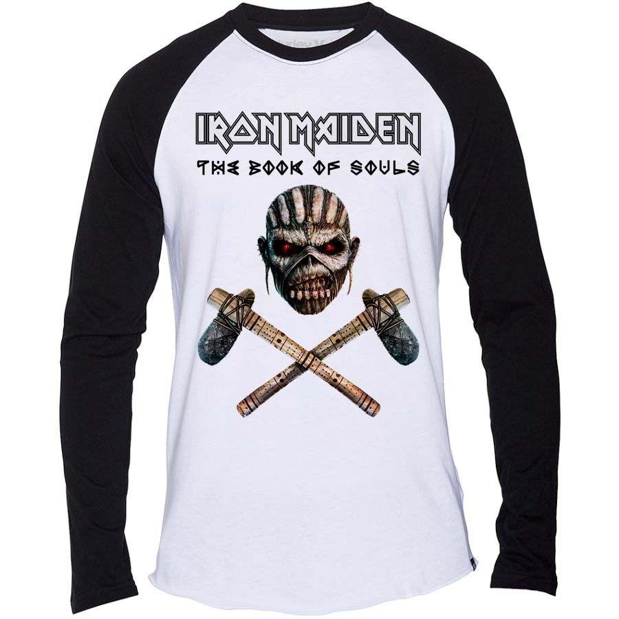 45a5724ea2 Iron Maiden - Axe Colour baseball póló - RockStore.hu - Rockzenei ...