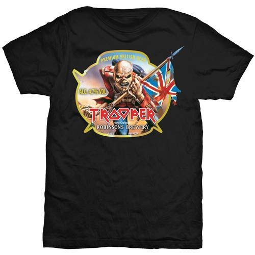 Iron Maiden - Trooper Robinsons Beer póló - RockStore.hu - Rockzenei ... 09c9d0e11f