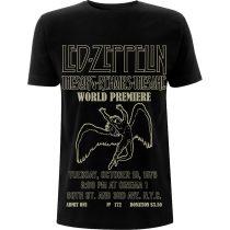 Led Zeppelin - TSRTS World Premier póló