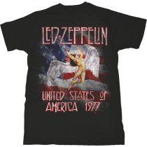 Led Zeppelin - Stars N' Stripes USA '77. póló