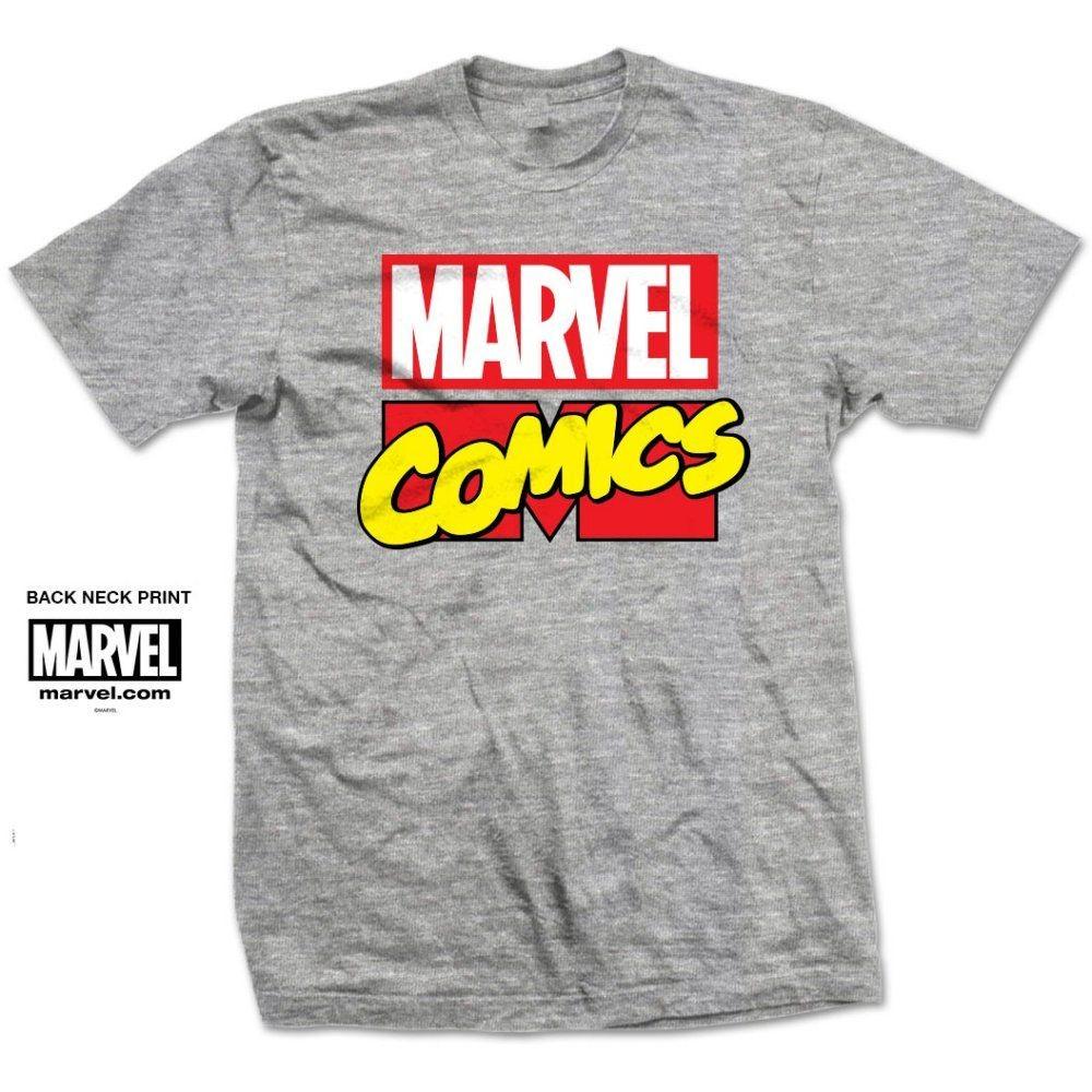 6fcf800240 Marvel Comics - Marvel Logo póló - RockStore.hu - Rockzenei ...