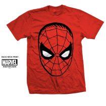 SpiderMan Big Head póló