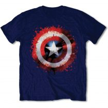 Captain America Splat Shield póló
