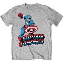Simple Captain America póló