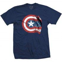 Captain American Shield póló