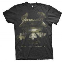 Metallica - Master of Puppets Distressed póló