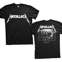 Metallica - Master of Puppets Photo (Back Print) póló