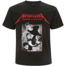 Metallica - Hardwired Band Concrete póló