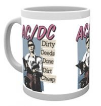 AC/DC - DIRTY DEEDS bögre