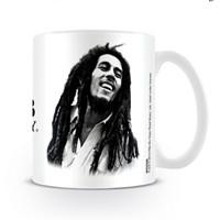 Bob Marley - B&W bögre