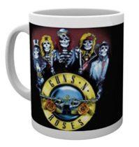 Guns N' Roses - SKELETON bögre