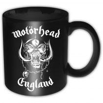 Motorhead - England bögre