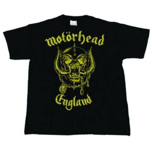 ff7c161579 Motörhead - England Classic Gold póló - RockStore.hu - Rockzenei ...