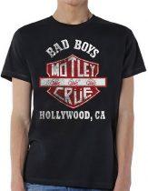 Motley Crue - Bad Boys Shield póló