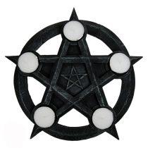Pentagram mécsestartó