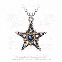 Alchemy Mediaeval Pentacle nyaklánc