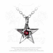 Alchemy Crystal Pentagram nyaklánc