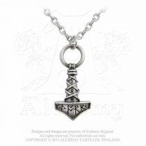 Alchemy Thor's Hammer Amulet nyaklánc