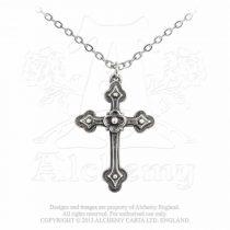 Alchemy Gothic Devotion Cross nyaklánc
