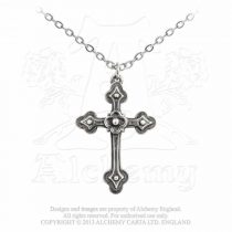 Alchemy Gothic Devotion Cross nyaklánc