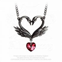 Alchemy The Black Swan Romance nyaklánc