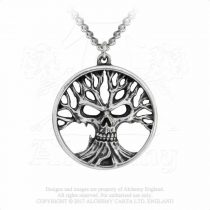 Alchemy Gotik Tree Of Death nyaklánc