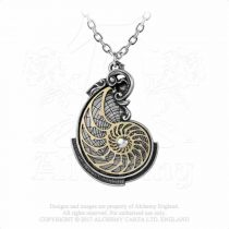 Alchemy Fibonacci's Golden Spiral nyaklánc