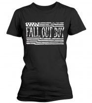 Fall Out Boy - US FLAG női póló