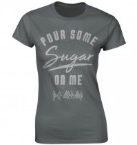 Def Leppard - POUR SOME SUGAR ON ME női póló
