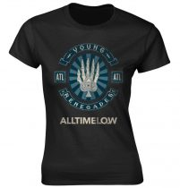 All Time Low - SKELE SPADE női póló