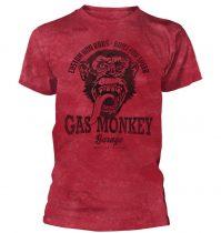 Gas Monkey Garage - CUSTOM HOT RODS póló