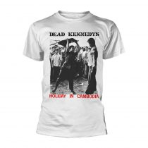 Dead Kennedys - HOLIDAY IN CAMBODIA (WHITE) póló