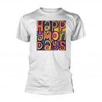 Happy Mondays - HAPPY MONDAYS (WHITE) póló