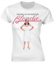 Blondie - HANGING ON THE TELEPHONE (WHITE) női póló