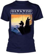 Hawkwind - MASTERS OF THE UNIVERSE (NAVY) póló