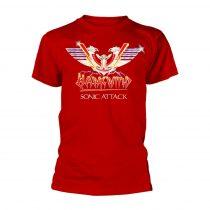 Hawkwind - SONIC ATTACK (RED) póló