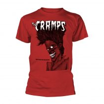 The Cramps - BAD MUSIC FOR BAD PEOPLE (RED) póló