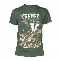 The Cramps - OFF THE BONE (GREEN) póló