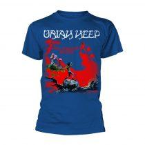 Uriah Heep - THE MAGICIANS BIRTHDAY (BLUE) póló