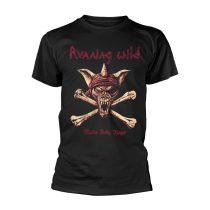 Running Wild - UNDER JOLLY ROGER (CROSSBONES) póló