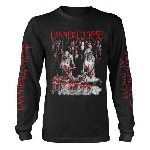 Cannibal Corpse - BUTCHERED AT BIRTH (EXPLICIT) hosszú ujjú póló