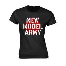 New Model Army - LOGO (BLACK) női póló