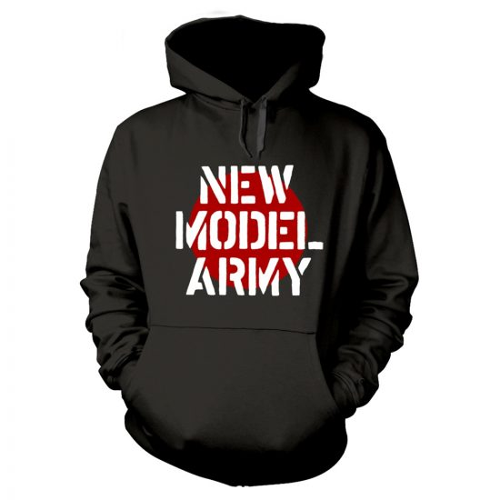 New Model Army - LOGO (BLACK) pulóver