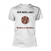 New Model Army - THUNDER AND CONSOLATION (WHITE) póló