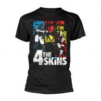 The 4-Skins - THE GOOD THE BAD & THE 4 SKINS (BLACK) póló