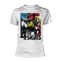The 4-Skins - THE GOOD THE BAD & THE 4 SKINS (WHITE) póló
