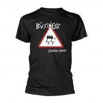 The Business - DRINKIN + DRIVIN (BLACK) póló