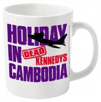 Dead Kennedys - HOLIDAY IN CAMBODIA bögre