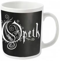 Opeth - LOGO (WHITE) bögre
